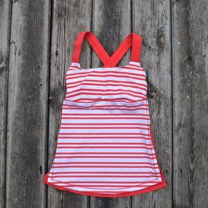 LULULEMON | Track and Train Tank Top Red | Sz.2